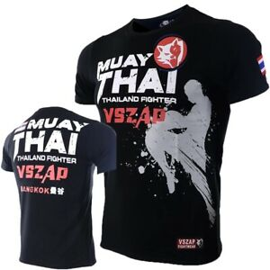 Muay Thai T Shirt Men Homme