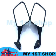 Left Right Rear View Mirrors Black Honda CBR 600 900 919 929 954 HYOSUNG GT125