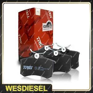 4x Front TRW Disc Brake Pads fits Ford Laser KN KQ 1.6L 75KW 77KW 1999 - 2002