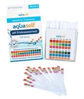 pH Teststreifen für Trinkwasser, 100 Stück, einfach, schnell, präzise, 4,5-9 pH