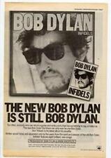 Bob Dylan Infidels Advert NME Cutting 1983