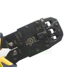 PC Network RJ45 RJ11 RJ12 CAT5 LAN Cable Wire Cutter Plier Ratchet Crimping Tool
