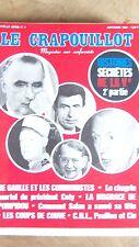 The Crapouillot 1968 New Series No 4 Histoires Secret de La Vee de Gaulle Coty