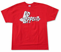 Led Zeppelin Est 1968 Red T Shirt New Official Adult