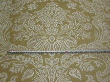 'Sabino Damask' Corn / Pearl, G P & J Baker Cotton Furnishing Fabric, 1.8 mts