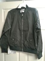 Goodfellow & Co. Mens Water Resistant Black Lightweight Jacket Size L #F