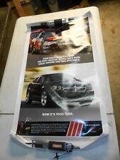 "NOS 2007 Dodge Avenger Dealership Advertising PosterJuan Pablo Montoya 38 ""x 22"""