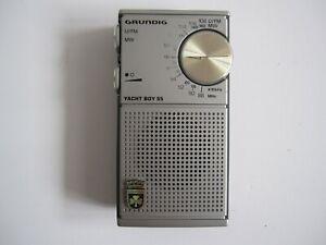 GRUNDIG YACHT BOY 55  U / FM  -  MW