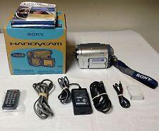 Sony Digital 8 Handycam 20x Optical 990x Zoom Camcorder DCR-TRV460 *Works great!