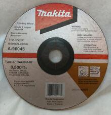 "New listing Makita A-96045 7"" x 1/4"" x 7/8"" Inox Grinding Wheel, 36 Grit, 3 Pk"