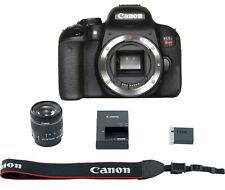 Canon EOS Rebel T7i EF-S 18-55 IS STM 24.2 Digital SLR, Black (1894C002)