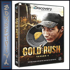 GOLD RUSH - COMPLETE SEASON 4 *BRAND NEW DVD***