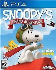 Peanuts Movie: Snoopy's Grand Adventure (Sony PlayStation 4, 2015)