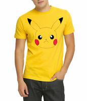 Pokemon Pikachu Face Adult T-Shirt