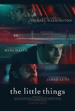 """The Little Things poster (a)  -  Denzel Washington, Jared Leto  - 11"""" x 17"""""""