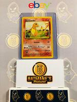 Charmander 46/102 NM Near Mint Base Set WOTC 1999 Non-Holo Pokemon Card