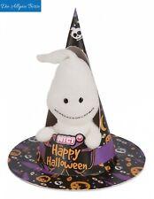 Nici 43670 Geist m. Loop 10cm Happy Halloween Plüsch Schlüsselanhänger Neu