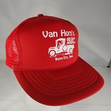 Van Horns Antique Truck Museum Hat Mason City Iowa Mesh Trucker Snapback KC Cap