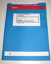 Werkstatthandbuch VW LT 4 Zylinder Einspritzmotor 4 Ventiler Mechanik Kühlung