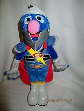 Talking Super Grover Sesame Street 15 inches tall 2011