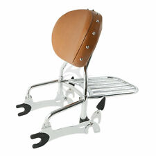 """12"""" Backrest Sissy Bar with Luggage Rack For Indian Chief Classic 14 15 16 17 18"""