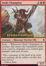 4x ondu champion (ondu-champion) Battle for zendikar Magic