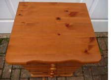 Two Pair Solid Pine Bedside Cabinets in Ex Condition for two couple
