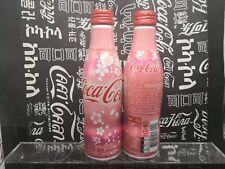 South Korea 2019 Coca Cola Sakura Cherry Blossom Aluminum Bottle empty