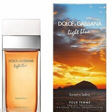 D&G Light Blue Sunset in Salina 3.3 3.4oz 100ml Spray For Women