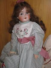 Antike Puppe Carl Hartmann, Porzellankopf Gliederkörpe 59 cm, Sammlungs-Auflösg.