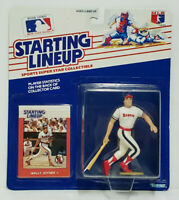 WALLY JOYNER California Angels Starting Lineup MLB SLU 1988 Rookie Figure & Card