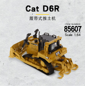 CAT 1/64 Scale Metal D6R Track-Type Tractor Dozer Truck Model Vehicles Box_Set