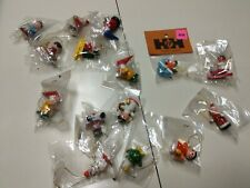 Lot of 15 Vintage Christmas Miniature Wooden Christmas Ornaments for Crafts