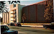 Las Cruces, NM - Branson Hall Library NM State University Postcard