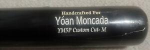 Chicago White Sox Yoan Moncada Game Used Cracked Baseball Bat