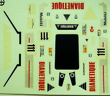 decals 1/43: Spice Le Mans 1987 N°111