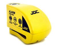 JDC Motorcycle Motorbike Waterproof Heavy Duty Disc Lock ALARM Ø7 Pin - JAWS PRO