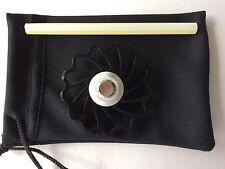 Black Fidget Spinner Ceramic Bearings Aluminum EDC Hand Desk Focus Caps