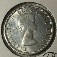 1960 Canada $1 Dollar Silver Coin