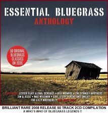 Best Greatest Bluegrass Hits 2CD - Lester Flatt Earl Scruggs Bill Monroe Stanley