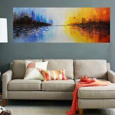 Handmade Art Wall Decor Modern Decorative Painting Oil Painting Framed  70x140cm