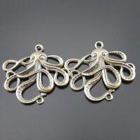 33063 Antiqued Bronze Vintage Alloy Lovely Spider Charms Pendant 13PCS