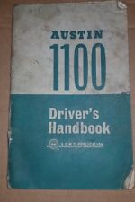 Austin 1100 Drivers Handbook