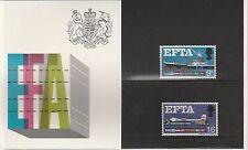 GB - 1967- EFTA - PRESENTATION PACK.