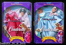 Wicked Stepmother Fairy Godmother Mask Costume Set Doll Disney Cinderella