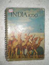 INDIA SPIAL DIARY RARE BOOK INDIA PHOTOS 1959