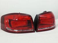 Audi A3 S3 8P black darkened facelift taillights rear lights set