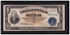 1949 PHILIPPINES 1 Peso, Victory Series 66, Osmena-Hernandez, Central Bank P117c