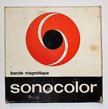 Bande Magnétique SONOCOLOR boite carton WSM ORIGINALE Enregistre NAT KING COLE