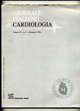GIORNALE ITALIANO DI CARDIOLOGIA # Scientific Press 1999